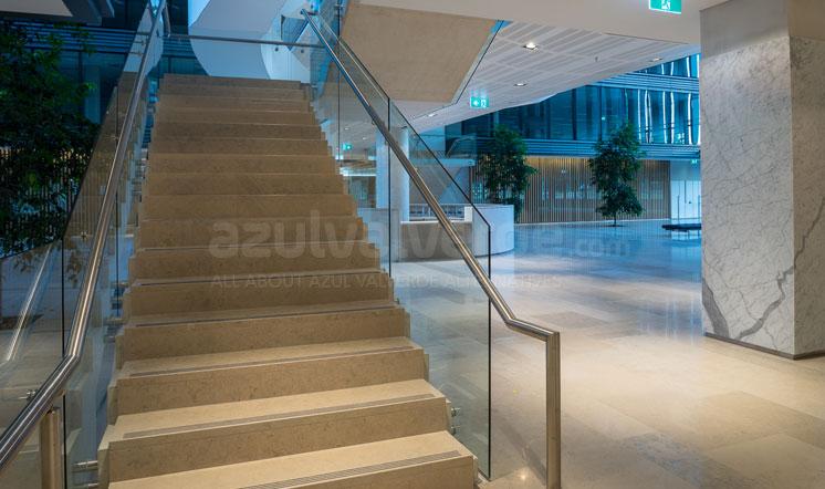 Moleanos Blue limestone flooring - Australia